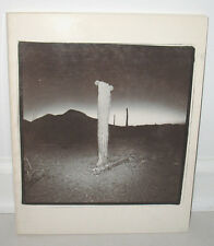 SIGNED Richard Misrach 1979 Grapestake Gallery Catalog PB Desert Landscapes
