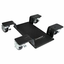 BikeTek Deluxe Motorcycle Centre Paddock Stand Mover Garage Dolly