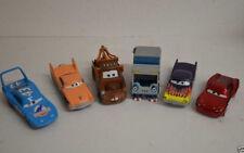 14 ) Disney Pixar Cars Set 6 Cars Autos aus Metall