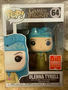 Game of Thrones OLENNA TYRELL 2018 Exclusive FUNKO POP Vinyl # 64 Limited Ed.