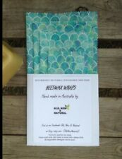 Mermaid kids Beeswax Wraps | STARTER PACK OF 4| Eco Friendly | Australian made