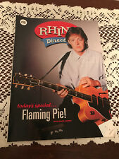 Rhino Direct #36 Magazine with Paul McCartney on the Cover