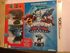 Nintendo 2DS 3DS Skylanders Trap Team Base Game + Power Portal + 2 Figuren OVP