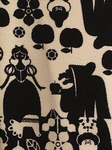 NWT LuLaRoe Disney Amelia Snow White Dress - White & Black - Size XS