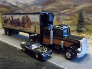 Matchbox Peterbilt Smokey and the Bandit Snowman Truck 1/64 Scale - Custom