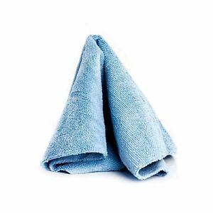 "10 x Microfibre Towel 16""x16"" 350gsm Excellent dressing Polishing Wipe Edgeless"