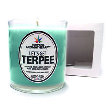 LET'S GET TERPEE: GIRL SCOUT COOKIE Terpene + Hemp Aromatherapy Entourage Candle