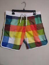 2b37384d062 H&M Multi-Color Block Mesh Brief Swim Trunks Suit Wear Board Shorts - Men's  M