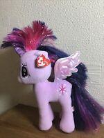 2016 My Little Pony Unicorn Starlight Sparkle Plushie 26cm Lilac Pink Purple