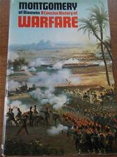 Vtg Book Field Marshall MONTGOMERY OF ALAMEIN A Concise History of Warfare Maps