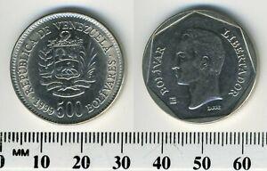 Venezuela 1999 - 500 Bolivares Nickel Clad Steel Coin