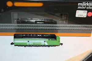 Märklin Z 8863 US Diesellok F7 der BURLINGTON NORTHERN (9780) - Neuzustand + OVP