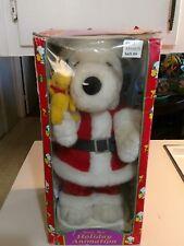 Vintage Peanuts Snoopy Holiday Animation. In Original Box.