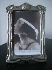 LOVELY  ART NOUVEAU STYLE , UNUSUAL  METAL  PHOTO FRAME