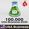 100k USA Database 2020 - Companies/Business B2B with Address, Phone, Emails, URL