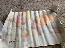 Stanford's general World Map Wrap  used