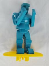 2001 Rockem Sockem Robots Blue Bomber Replacement Robot Toy Figure Mattel