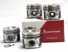 RENAULT 1.5 DCI SET OF 4 PISTONS K 9 K OVERSIZE 0.50MM SUPPLIED WITH RIKEN RINGS