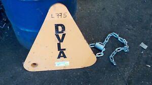 DVLA wheel clamp