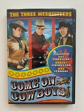 Three Mesquiteers, The - Come On, Cowboys (DVD, 2006) NEW