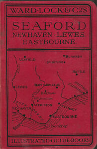 WARD LOCK RED GUIDE - SEAFORD & EAST SUSSEX COAST - 1938/39 -  11th edition rev.