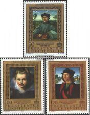 Liechtenstein 881-883 (completa Edizione) usato 1985 Dipinti