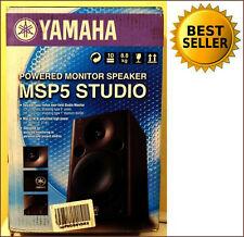 "NEW Yamaha MSP5 Active 67W 5"" Two-Way Studio Monitor (Single) 100% RATED SELLER"