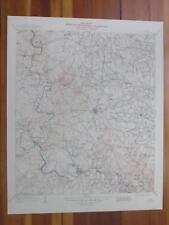 Burnet Texas 1949 Original Vintage USGS Topo Map