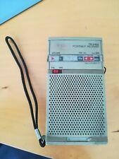 Vintage Pocket Radio Philips MW FM TR0100 collectable Radio NOT WORKING