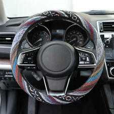 Baja Indian Saddle Blanket Non-Slip Sweat Absorbing Car Steering Wheel Cover