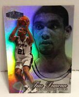 Tim Duncan 1998-99 Flair Showcase Power Sec 2 Row 3 Seat 5 Rookie Card RC Spurs