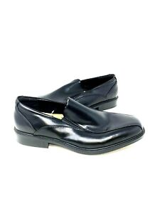 NEW! Croft & Barrow Men's Perry Oxford Dress Shoes WIDE WIDTH Black 100A py