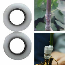 2X 100M Nursery Grafting Stretchable Tape Self Adhesive For Garden Tree Seedling