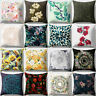 Floral Pattern Square Throw Pillow Cover Case Cushion Home Sofa Car Decor 18""