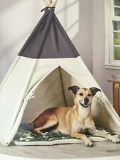 Harmony Pet TeePee Dog Tent Bed House