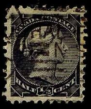 CANADA #34 USED SMALL QUEEN DEFINITIVE ISSUE OF 1870-89 - VF/XF - $14 (ESP#9660)