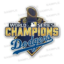 Los Angeles Dodgers World Series Champions 2020 Precision Cut Decal / Sticker