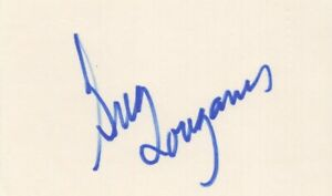 Greg Louganis - Iconic American Olympic Diver - Autographed 3x5 Card