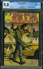 Kill or be Killed #6 Walking Dead #1 Homage Variant Movie 1st Print CGC 9.8