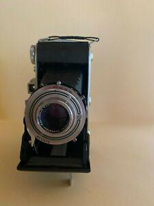 Agfa Billy Record 1:4,5/105 Vintage Klappkamera mit Ledertasche