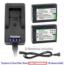 Kastar Battery Fast Charger for Sony NP-FH50 & DCR-DVD705 DCR-DVD708 DCR-DVD710