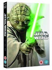 STAR WARS Trilogy Episode 1 2 3 DVD Phantom Menace Attack Clones Revenge Sith