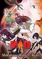 SHIKABANE HIME 2: KURO ANIME DVD 1-12 ENGLISH SUB Ship from USA