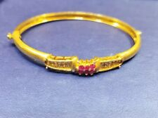 22k Gold Braelet Beautifuly Crafted in Solid Yellow Gold