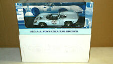 1/18 SCALE DIECAST GMP #83 A.J. FOYT LOLA T 70 SPYDER CAR BOXED
