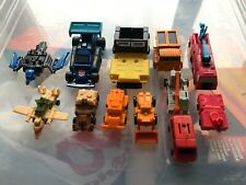 Transformers Takara G1 Vintage Minibot Figures 1980s