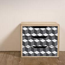 Walplus 3D Cubes Wall Stickers Mural Decal Paper Art Decoration Pattern DIY