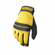 DeWalt DPG20L All Purpose Synthetic Leather Palm Work Glove, Size Large