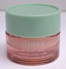 BN CLINIQUE ALL ABOUT EYES Reduces Circles, Puffs  .21 oz / 7ML