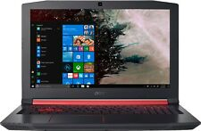 Acer NITRO 5 AN515-53-52FA 15.6 in Shale black Gaming Laptop With Red Led Lights